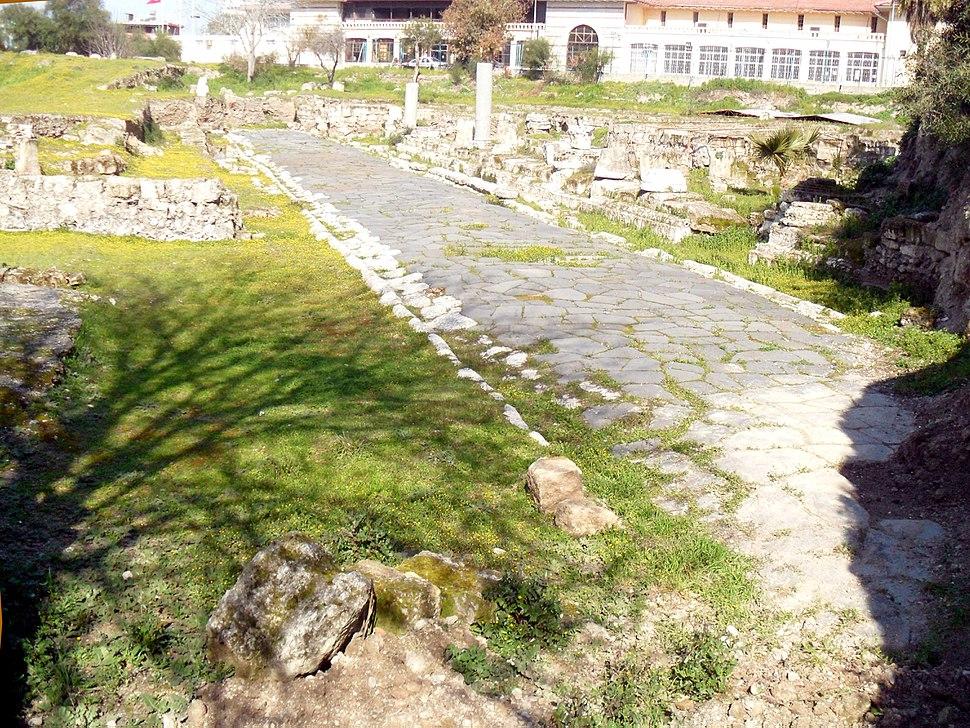 Roman road in Tarsus, Mersin Province
