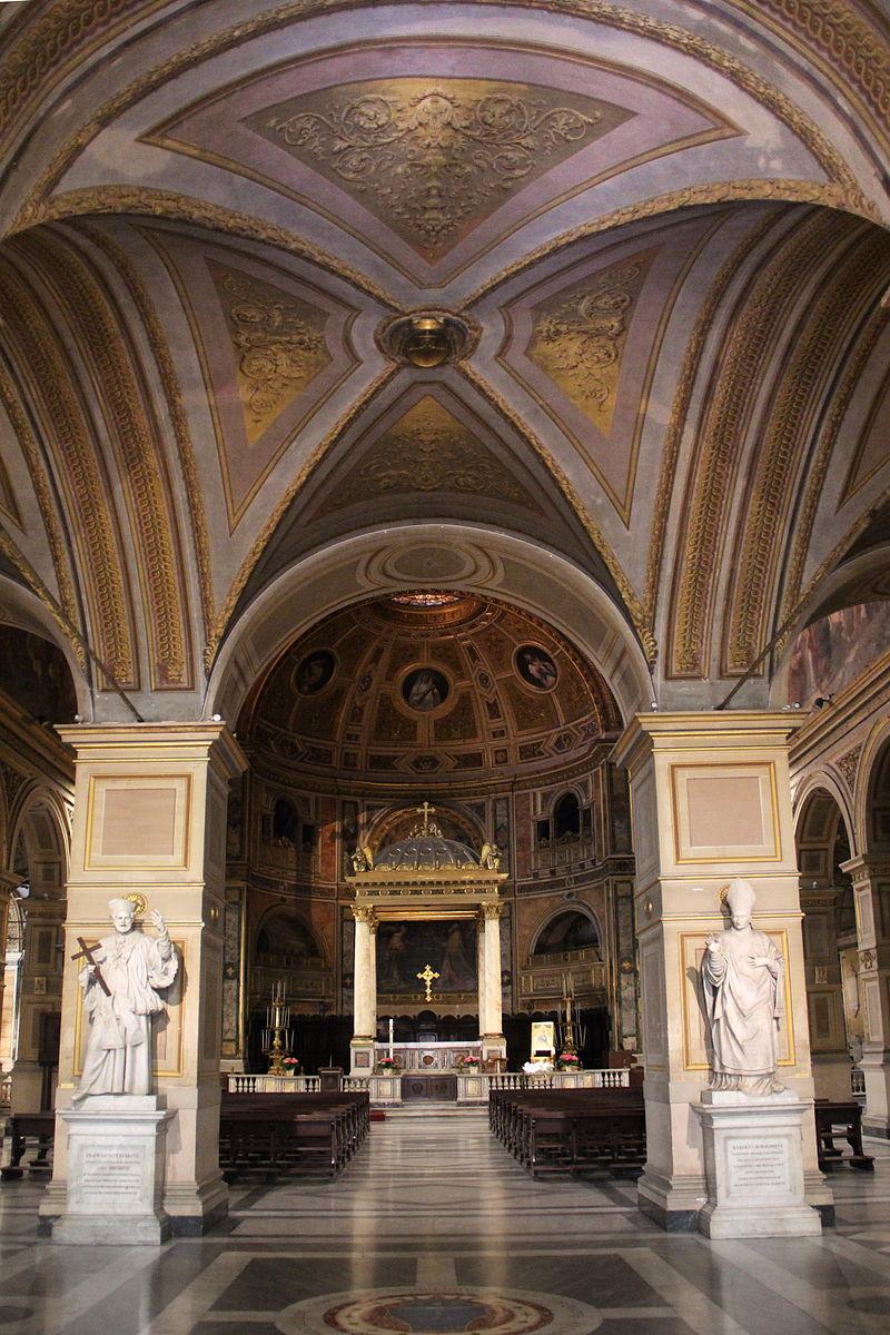 Rome, Chiesa di San Lorenzo in Damaso 002.JPG