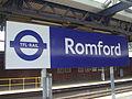 Romford station signage 2015.JPG
