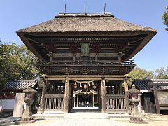Romon Gate of Aoi Aso Shrine.jpg