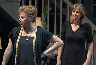 August: Osage County - Steppenwolf Theatre ensemble members Rondi Reed (left) and Amy Morton in the original Chicago cast of August: Osage County.