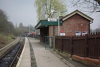 Rose Hill Marple railway station Railway station in Stockport, England