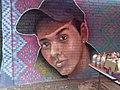 Rostro de desaparecido en Mural de la Memoria, Córdoba.jpg