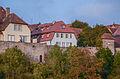 Rothenburg ob der Tauber, Stadtbefestigung, Burggasse 9, 7, Stadtmauer, Käskammer-20121121-001.jpg