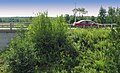 Route 257 et auto vue du pont couvert de gould - panoramio.jpg
