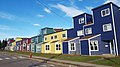 Row of colorful homes, Moncton, New Brunswick (38607503132).jpg