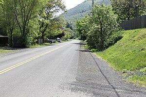 Rowena, Oregon - Modern Rowena, Oregon along U.S. Route 30