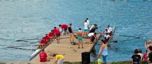 Lake Pancharevo - Rowing regatta on Lake Pancharevo