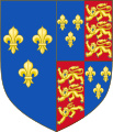 Royal Arms of England (1470-1471).svg