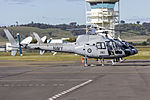 Royal Australian Navy's Fleet Air Arm (N22-016 and N22-020) Aérospatiale AS 350B Ecureuil at Wagga Wagga Airport.jpg