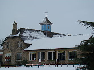 Royal Latin School - Brookfield House during the February 2009 Great Britain and Ireland snowfall