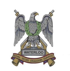 Charles Ewart - Cap badge of the Royal Scots Dragoon Guards