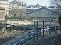 Rue de Rome vue sur St Lazare 01, Paris mars 2014.jpg