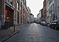 Rue des Tanneurs with entrance to Marché Bio des Tanneurs on the left.jpg