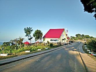 Rangamati Hill District - Image: Runmoy resort at Sajek