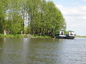 Rusnė - Anglers in Rusnė island