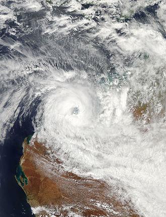 2012–13 Australian region cyclone season - Image: Rusty Feb 26 2013 0540Z