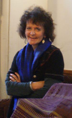 Ruth Padel - Image: Ruth in Etz Hayyim B