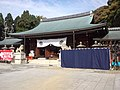 Ryôzengokoku-jinja Shintô Shrine - Haiden Sanctuary.jpg