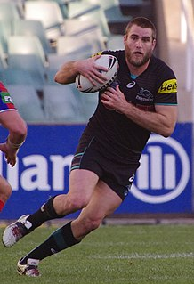 Ryan Simpkins (rugby league) Australian rugby league footballer
