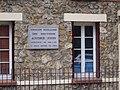 Sèvres - Groupe scolaire des Bruyères (plaque).JPG