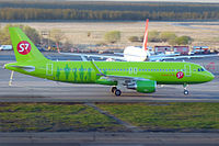 VP-BOL - A320 - S7 Airlines