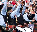 SFU Gr.1 Pipe Band at the Worlds 2012 (7761675110).jpg