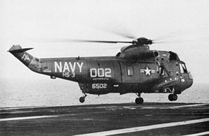 SH-3D HS-3 on USS Forrestal (CVA-59) 1971.jpg