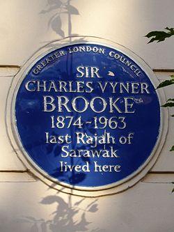 Sir charles vyner brooke 1874 1963 last rajah of sarawak lived here