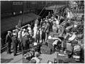 SLNSW 10323 Gonsalez Opera Company and their luggage on the deck of their liner arriving in Sydney.jpg