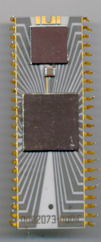 Signetics 8X300 - SMS 300 Back Side showing separate power regulator