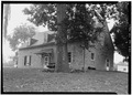 SOUTH FRONT AND EAST SIDE - Martin Schultz House, Emig Street, near Hellam Street, Hallam, York County, PA HABS PA,67-HAL,1-1.tif