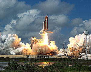 1988 in spaceflight - Image: STS 26 Return to Flight Launch GPN 2000 001870