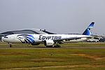 SU-GDM - EgyptAir - Boeing 777-36N(ER) - CAN (12795372974).jpg