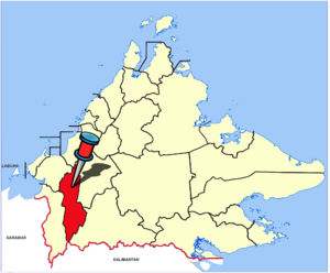 Tenom - Image: Sabah Districts Tenom pp