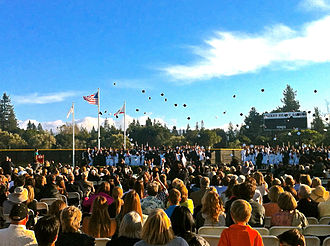 Sacred Heart Preparatory (Atherton, California) - Graduation ceremony 2011