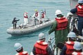 Sailors from USS Sampson conduct search and recovery operations to locate missing AirAsia Flight QZ8501. (16029186888).jpg