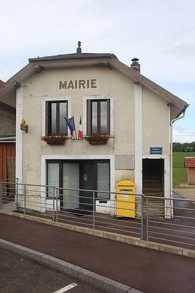 Mairie de Saint-Gorgon (Doubs).