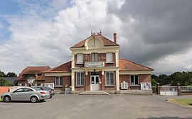 The town hall of Saint-Paul-aux-Bois