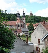Saint-Quirin Église et Haute Chapelle
