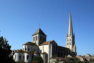 Abbey Church of Saint-Savin-sur-Gartempe - Image: Saint Savin abbaye (3)