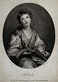 Saint Cecilia. Stipple engraving by I.M. Delattre after F. B Wellcome V0031854.jpg