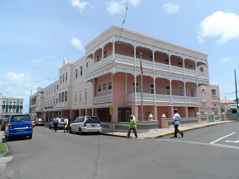 Saint Kitts and Nevis Government building 2
