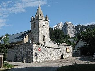Saint-Nizier-du-Moucherotte - The church of Saint-Nizier-du-Moucherotte