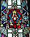 Saint Patrick Catholic Church (Junction City, Ohio) - stained glass, Alpha Omega.jpg