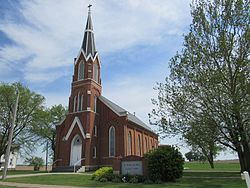 Saints Peter and Paul Church - Clear Creek, Iowa 01.jpg