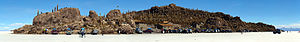 Isla Incahuasi - Image: Salar de Uyuni Décembre 2007 Panorama 1 edit