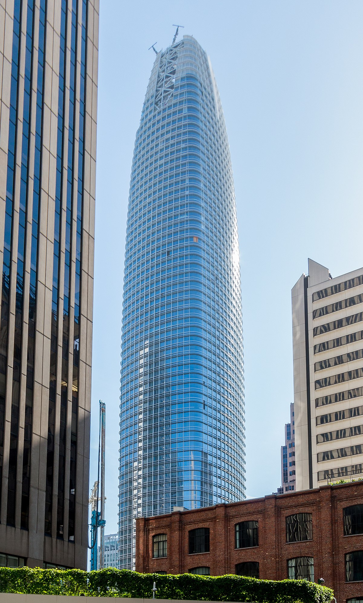 Salesforce tower wikipedia Design companies in san francisco