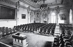 Ordinance room - Salt Lake Temple Terrestrial room