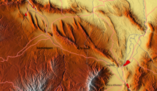 Samangan Province relief.png